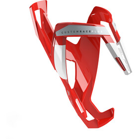Elite Custom Race Plus Bottle Holder glossy red/white design